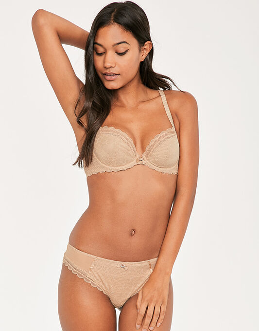 C Chic Sexy Plunging Underwired Bra