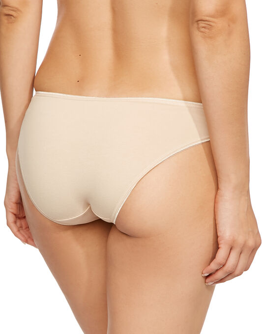 figleaves Just Peachy Cotton Comfort 3pk Brief