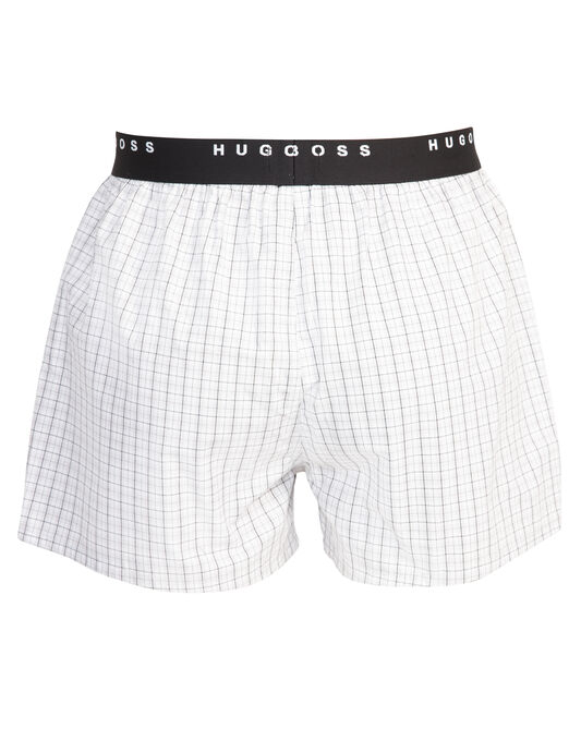 2 Pack Woven Button Front Boxer