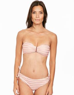 Ted Baker Rose Gold Stripe Bikini Top