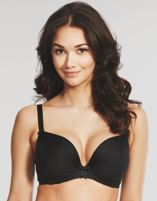 Lauren Underwired Padded Plunge Bra