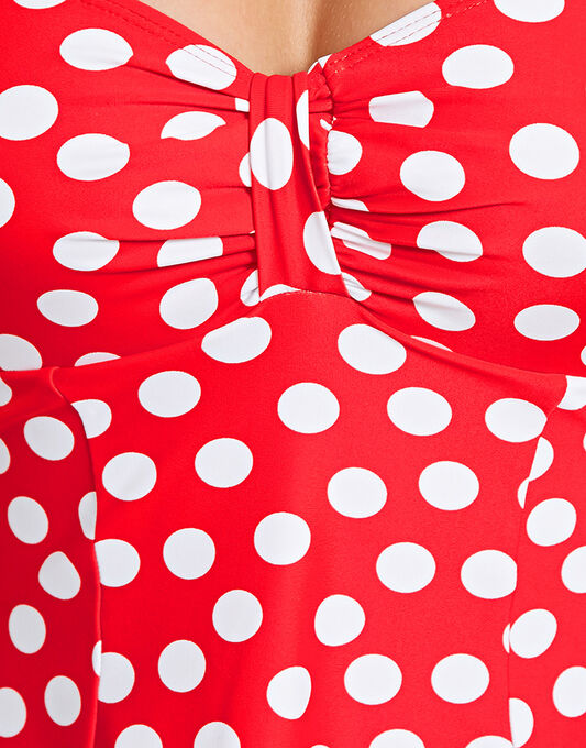 Seaspray Polka Dots Soft Cup Swimdress