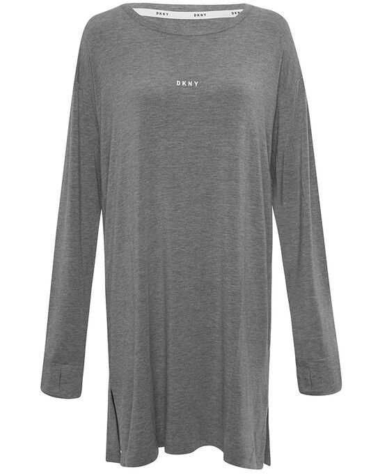 DKNY Checked In L/S Sleepshirt