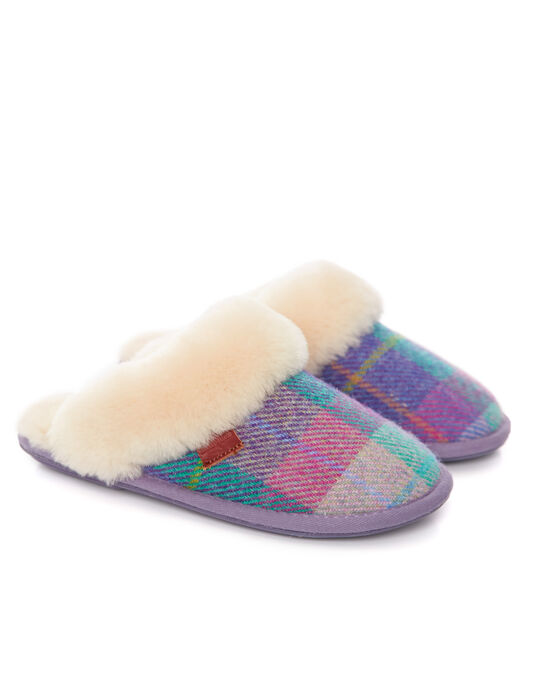 Kate Harris Tweed Mule Slipper