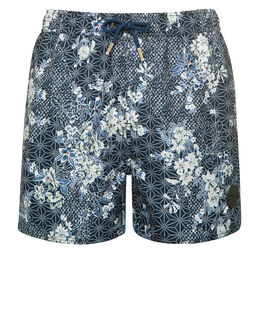 Native Youth Florah Sashiko Swim Short
