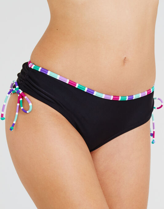 Berry Mojito Adjustable Side Classic Bikini Brief