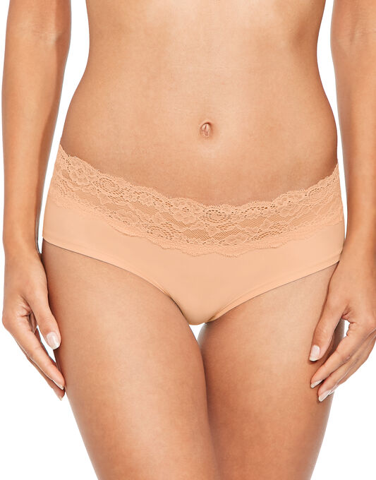 figleaves Microfibre And Lace 3 Pack Short