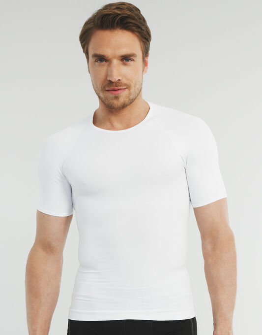 Zoned Compression Crew Neck T-shirt