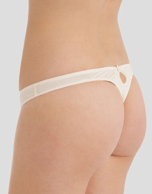 Evie Bridal Thong