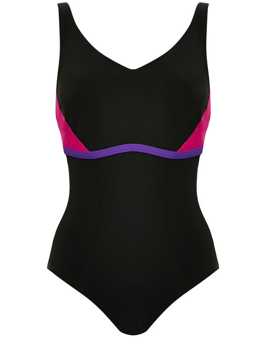 figleaves Aqua Underwired B-GG Active Shaping Swimsuit