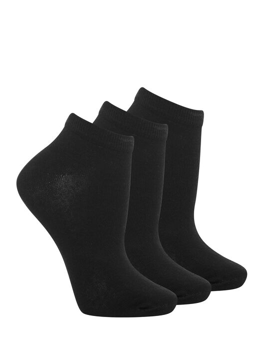 Charnos Hosiery Plains 3 Pack Trainer Socks