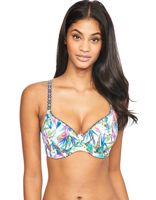 Freya Swim Tropicool Non Padded Plunge Bikini Top