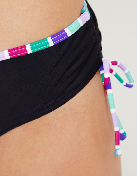 figleaves Berry Mojito Adjustable Side Classic Bikini Brief