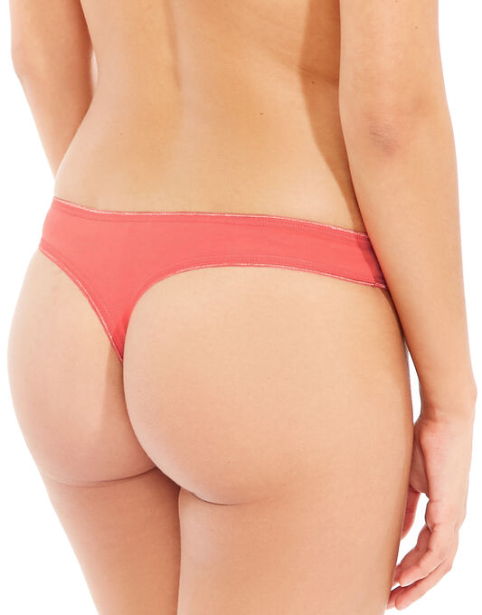 Just Peachy Cotton Comfort 3pk Thong