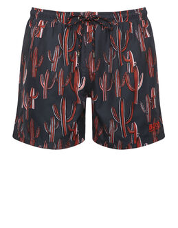 BOSS Black Piranha Swim Short