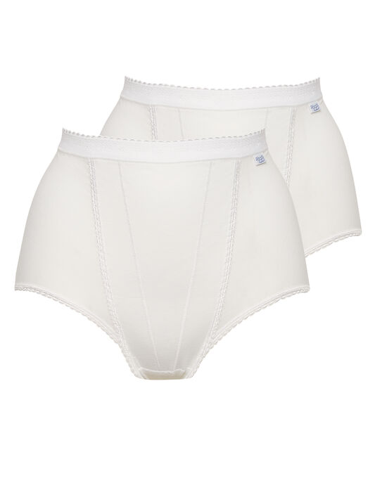 Sloggi Control Maxi Brief 2 Pair Pack