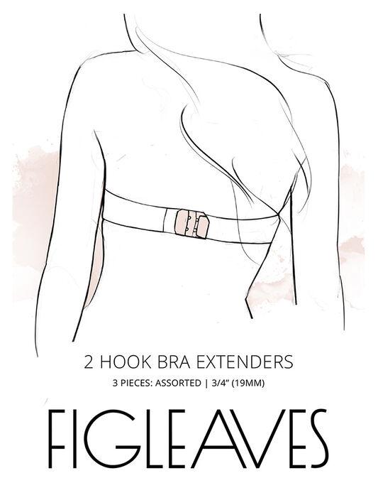 figleaves 2-Hook Bra Extenders