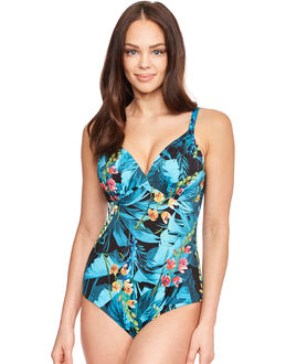 Fantasie Seychelles Underwired Deep Gathered Plunge Control Swimsuit