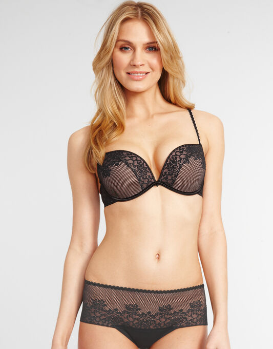 Full Effect Lace Push Up Bra