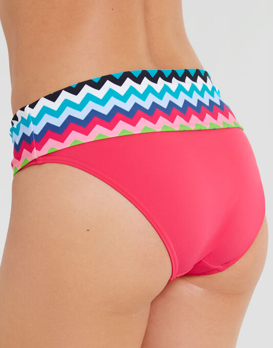 figleaves Cindy Chevron Fold Bikini Brief