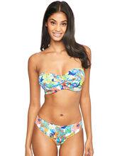 Island Girl Twist Bandeau Bikini Top