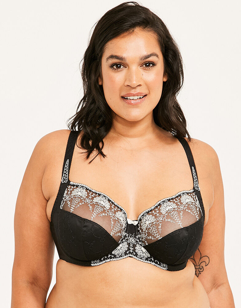 Elodie Underwired Bra With Side Support | Octer