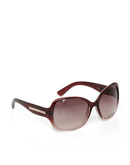 Karen Millen Metal Bar Detail Plastic Sunglasses