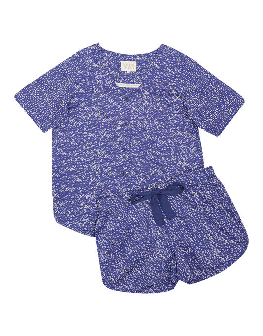 Yawn Smooth Cotton Sateen Shorts PJ Set