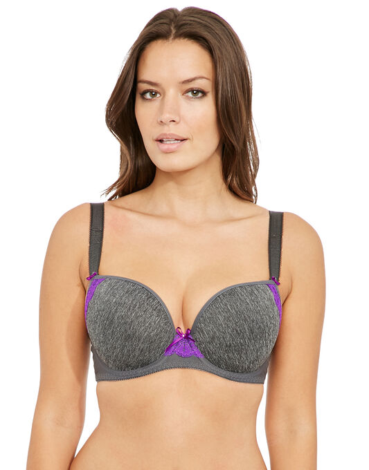 Deco Delight Underwired Moulded Plunge Bra