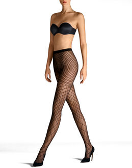 Wolford Karo Tights