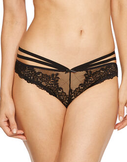 Contradiction by Pour Moi Strapped Brazilian Brief