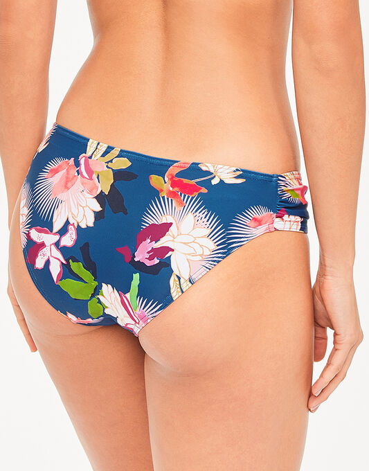 figleaves Luana Ruched Side Floral Brief