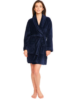 DKNY Signature Folded 36' Robe