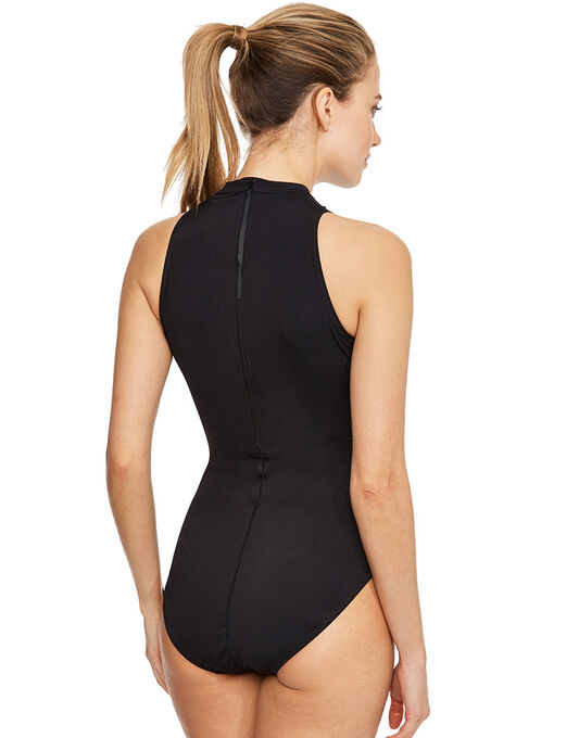 Speedo Black Hydrasuit Flex Swimsuit