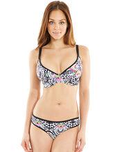 Zodiac Underwired Padded Plunge Bikini Top