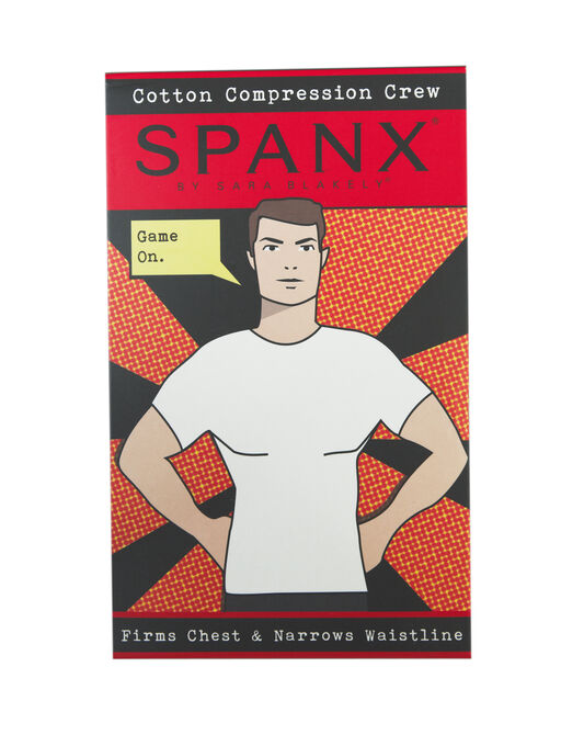 Cotton Compression Crew Neck T-shirt