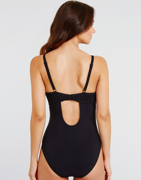 figleaves Icon Underwired Strapping Swimsuit