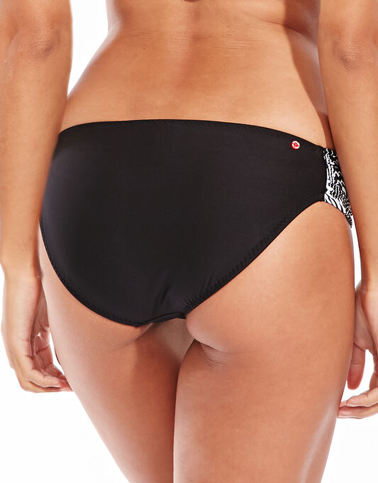 Red Carter Mirage Colourblock Side Tab Hipster Brief