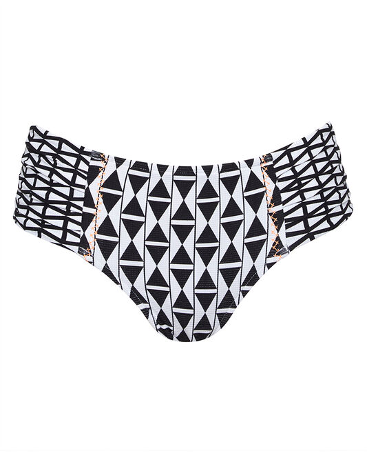 Modern Geometry Wide Side Retro Brief