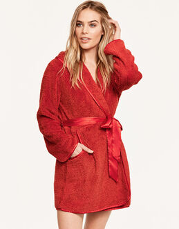 Maidenform Sleepwear Snowbird Plush Robe