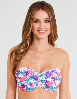 figleaves Coco Rush Twist Bandeau Bikini Top