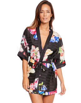 Ted Baker Tapestry Floral Stripe Cover Up