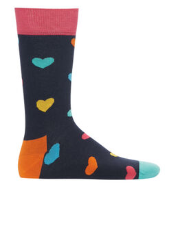 Happy Socks Heart Print Sock