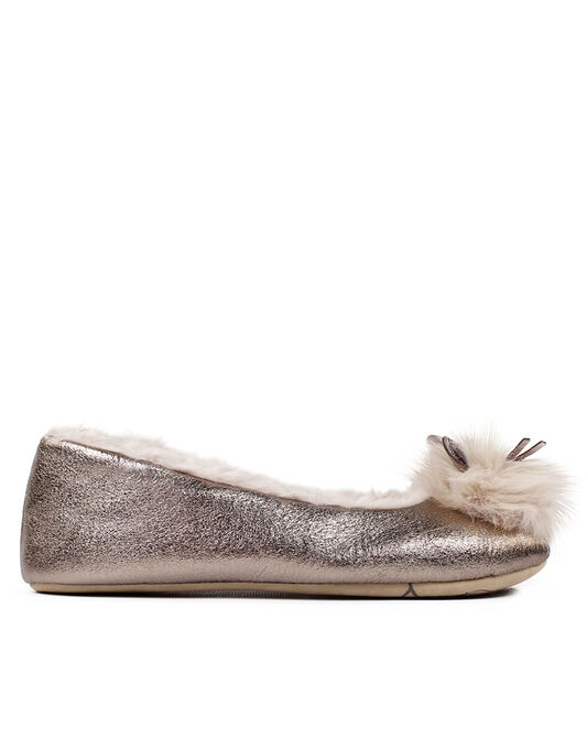 Ruby&Ed Ballerina Golden Mouse Slipper