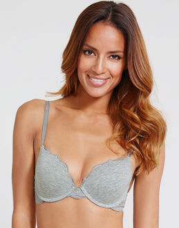 DKNY Downtown Cotton Perfect Lift Push Up Bra