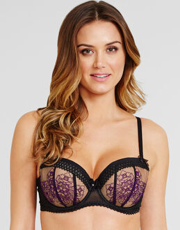 Fauve Isla Underwired Padded Half Cup Bra
