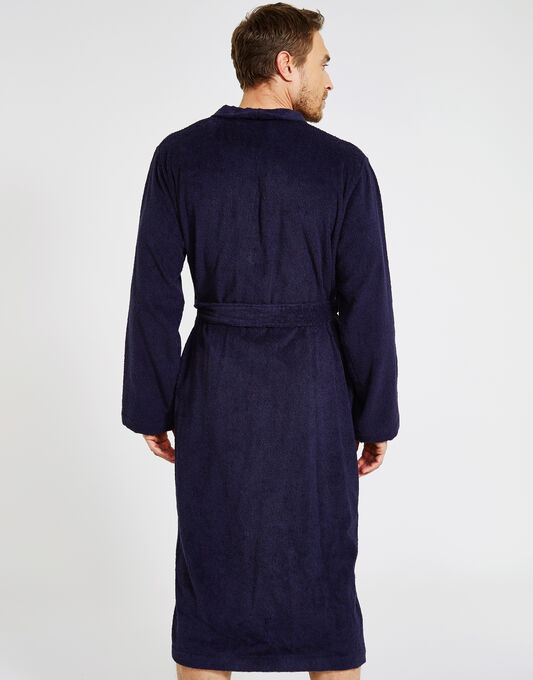 Cotton Terry Kimono Bathrobe