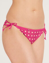 Seashell Tie Side Bikini Brief