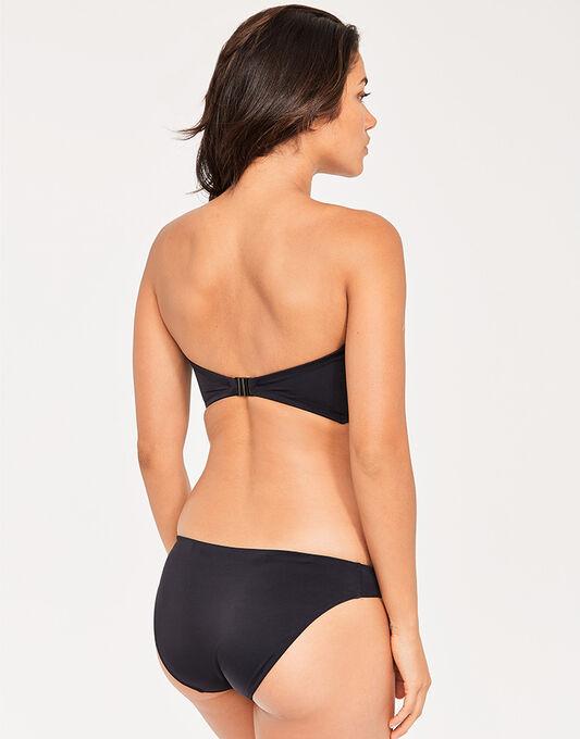Freya Swim Black Macrame Monokini