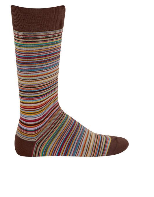 New Multistripe Sock